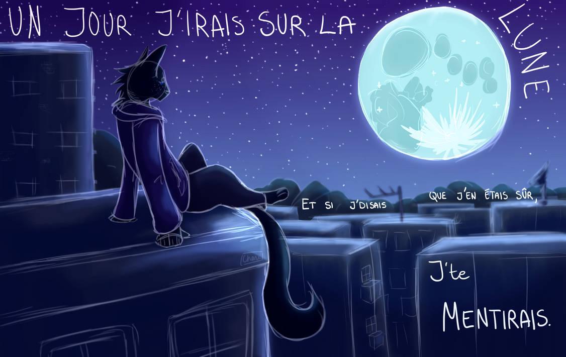 Sur La Lune by Chilliechee