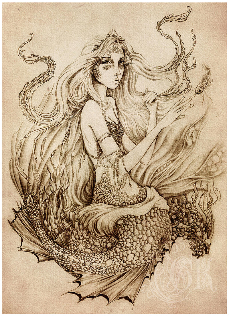 On The Sea Floor By GingerKellyStudio On DeviantArt