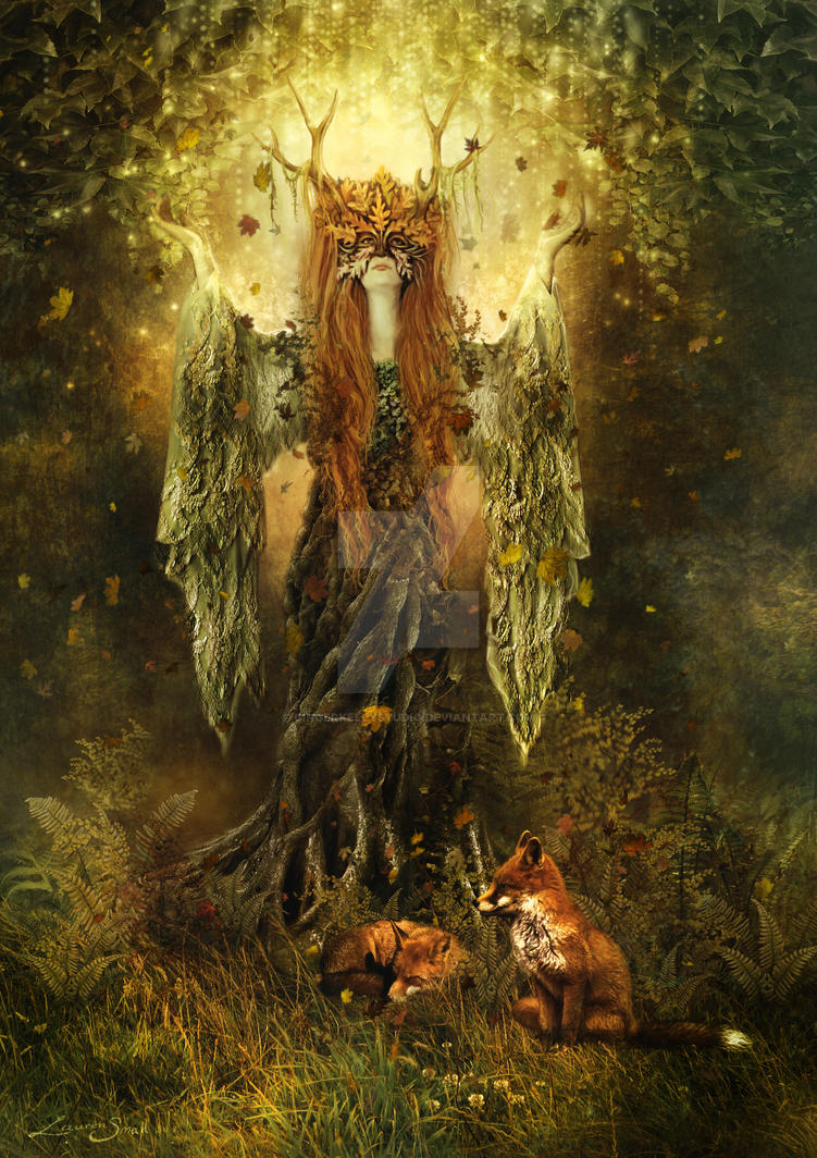 Forest Spirit by GingerKellyStudio