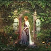 The Unlocked Door by GingerKellyStudio
