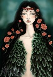 Swanmaiden by GingerKellyStudio