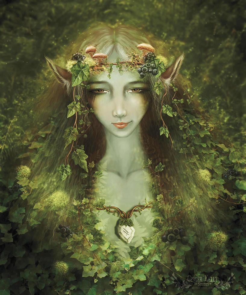 The Ivy Fae by GingerKellyStudio on deviantART