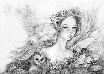 Titania's Daughter by GingerKellyStudio
