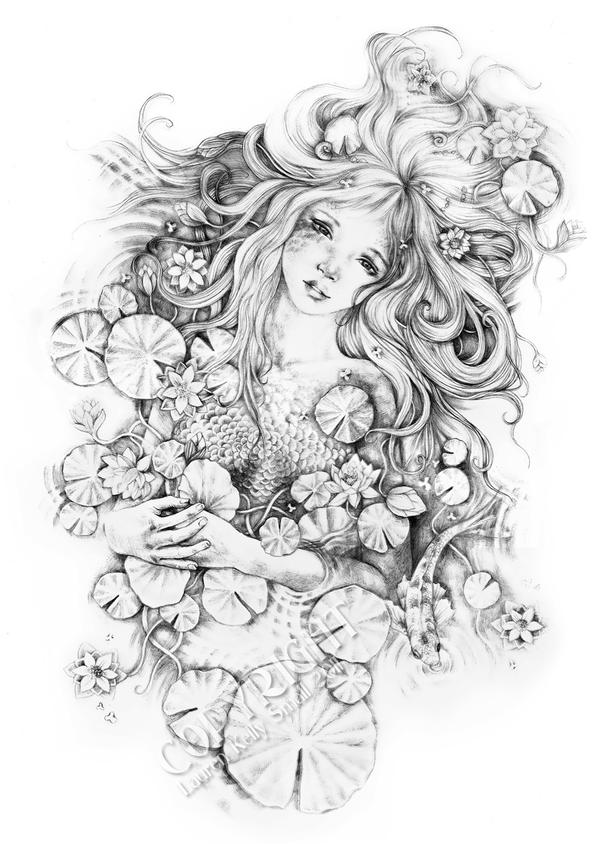 Sorrow Star The Water Nymph by GingerKellyStudio on DeviantArt