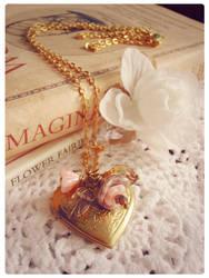 My Fragile Heart Locket by GingerKellyStudio