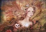 Titania's Daughter, Colored by GingerKellyStudio