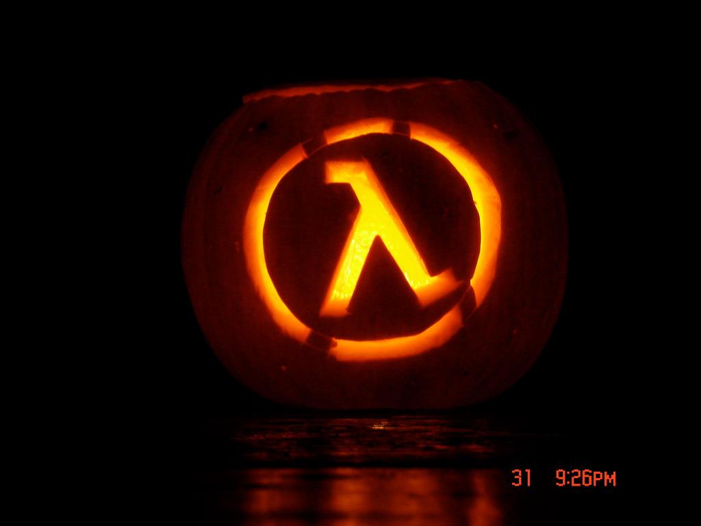Half life pumpkin by hmcdlnny on deviantart