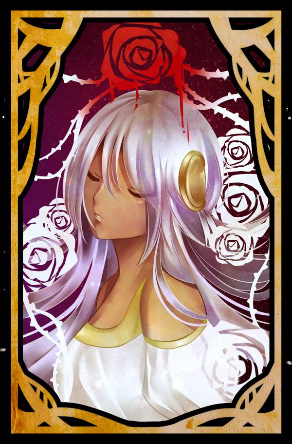 The Rose Maiden by khanachi