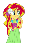 Hula Sunset Shimmer