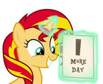 Sunset Shimmer is Excited for Rainbow Rocks
