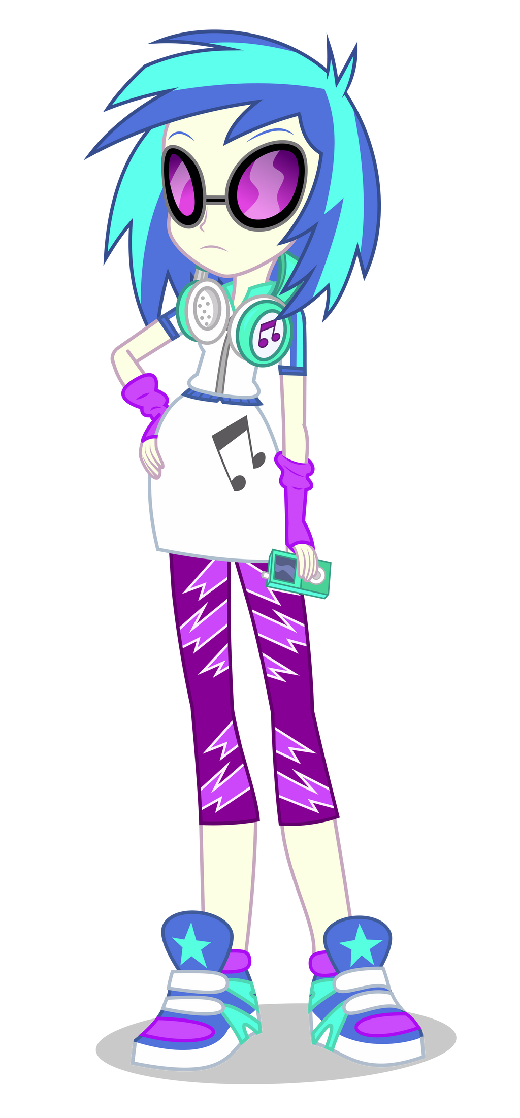 Eg Vinyl Scratch By Mohawgo On Deviantart