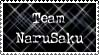 Team narusaku stamp by Quila-Quila