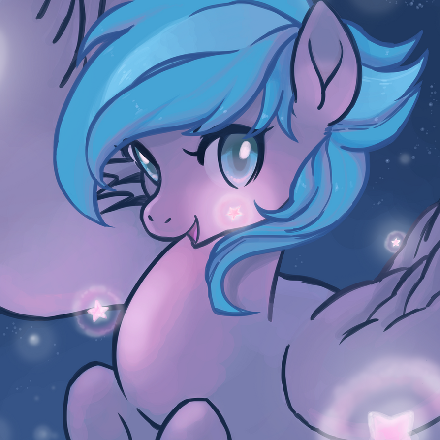 Night Time Star by Quila-Quila