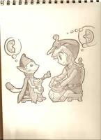 Loz Link Minish Cap by jirachi-999