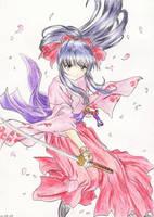 Sakura Shinguji by FlavioSY by TheFlowerDivision
