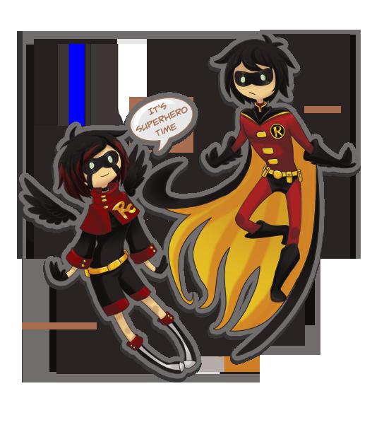 It's Superhero time by MahoHaku