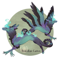 Dreamwind Dracokai -custom- by GentleLark