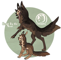 Beast by the Moon - Auction - CLOSED by GentleLark