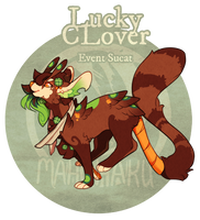 Official Sucat - Lucky Clover Auction (CLOSED) by GentleLark
