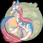 Lovely Seafoam Cloak