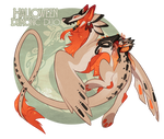 Halloween Demonic Duo - Auction (CLOSED) by GentleLark