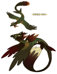Emerald King - Auction OPEN by GentleLark