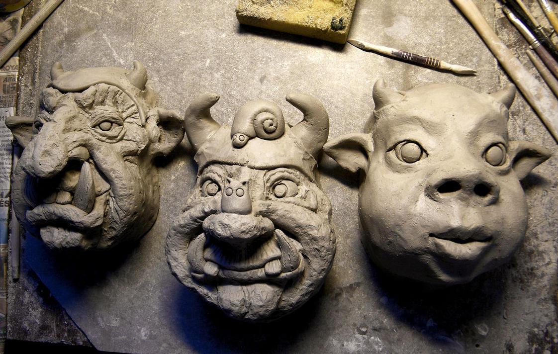 3 fellows by DarkMask