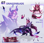[OPEN/AUCTION] Dragonblade~ [7] by Kurojii