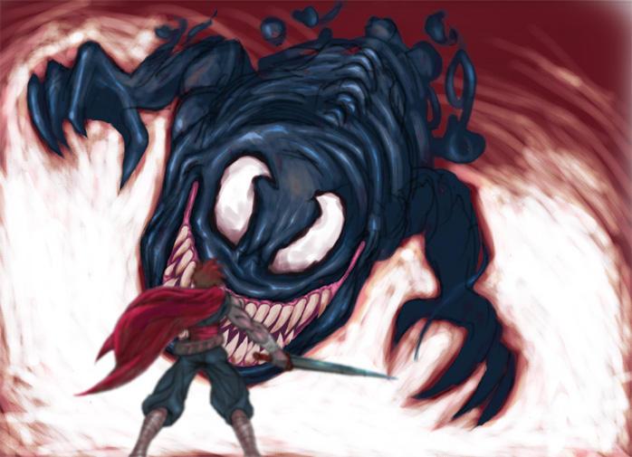 Venom Fang by digital-klown