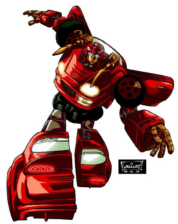 Transformers:  Prowl by digital-klown