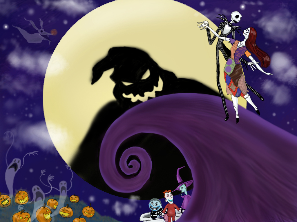 Nightmare Before Christmas Hill Jack And Sally images