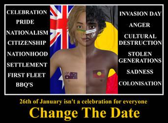 Duality of Australia Day by Sirius1066