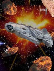 Star Wars - The Millennium Falcon by Sirius1066