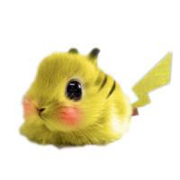 Pikachu by MoonlitSnowWolf
