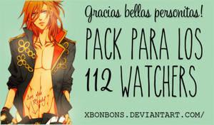 Packsito para mis 112 watchers~