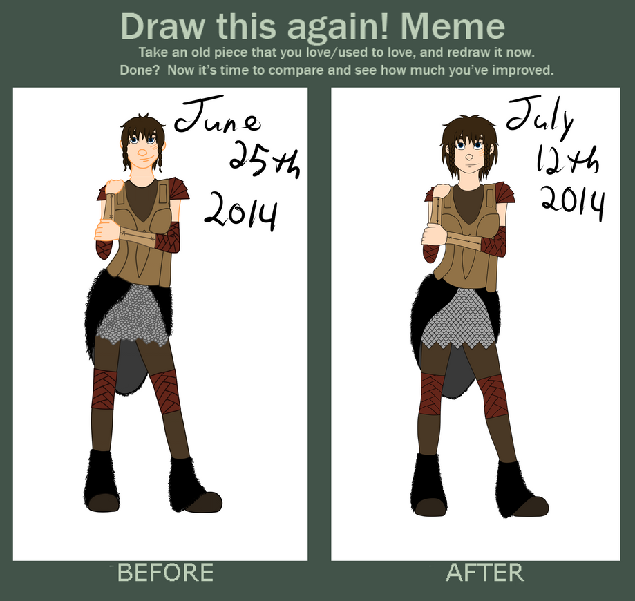 .: Draw This Again Meme - Iona Forseth:. by MishkaBonnefoy