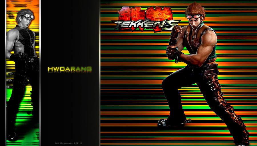 Tekken wallpaper - Hwoarang 2 by Reddari
