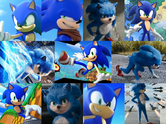 Sonic Collage ART TRADE by 9fANN