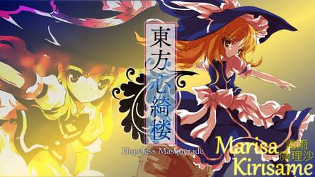 Touhou 13.5 ~ Marisa Kirisame Wallpaper