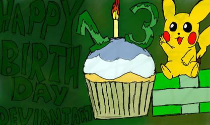 Happy 13th Birthday, DA!