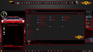 Windows 7 Themes: Ferrari