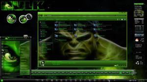 Windows 7 Themes: The Hulk