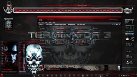 Windows 7 Themes: Terminator by TheBull1