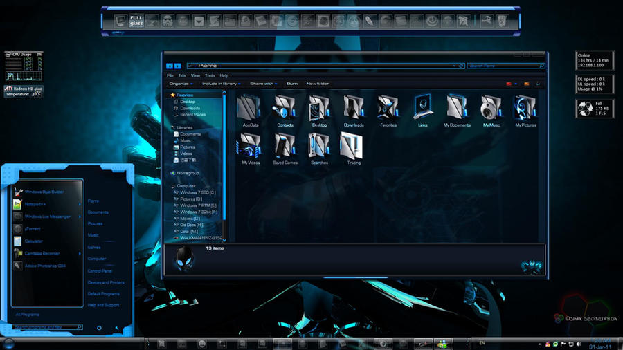 windows 7 themes free  full version 32-bit
