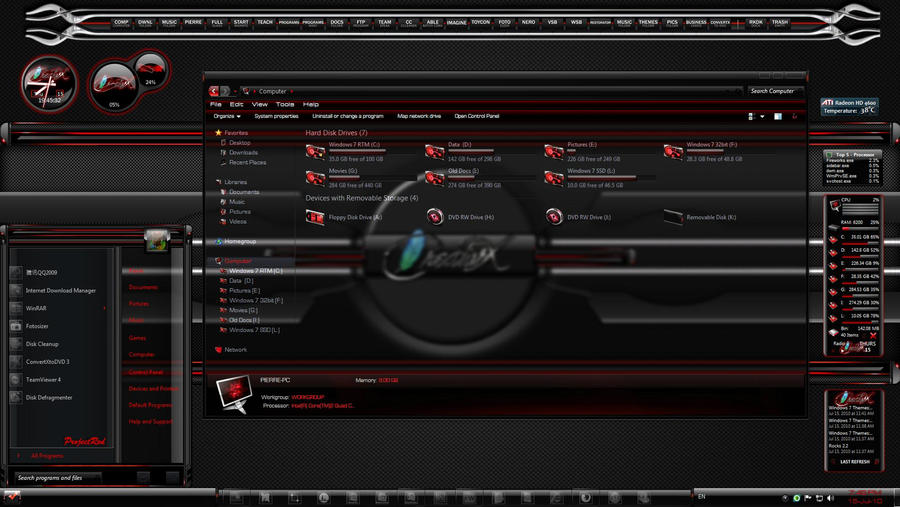 CreativX ProjectRed by TheBull1 on DeviantArt
