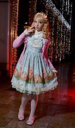 Lolita fashion - Winter Wonderland 01 by palmacosplay