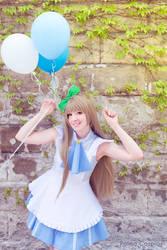 Kotori Minami with Balloons by palmacosplay
