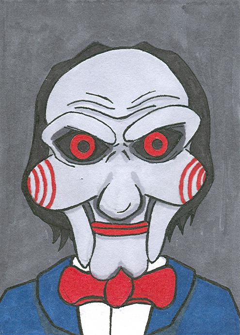 Jigsaw Puppet by knight1303 on DeviantArt