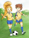 Request: Kaki Ai and Matsukaze Tenma