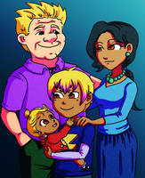 Holiday Family Photo by Card-Queen